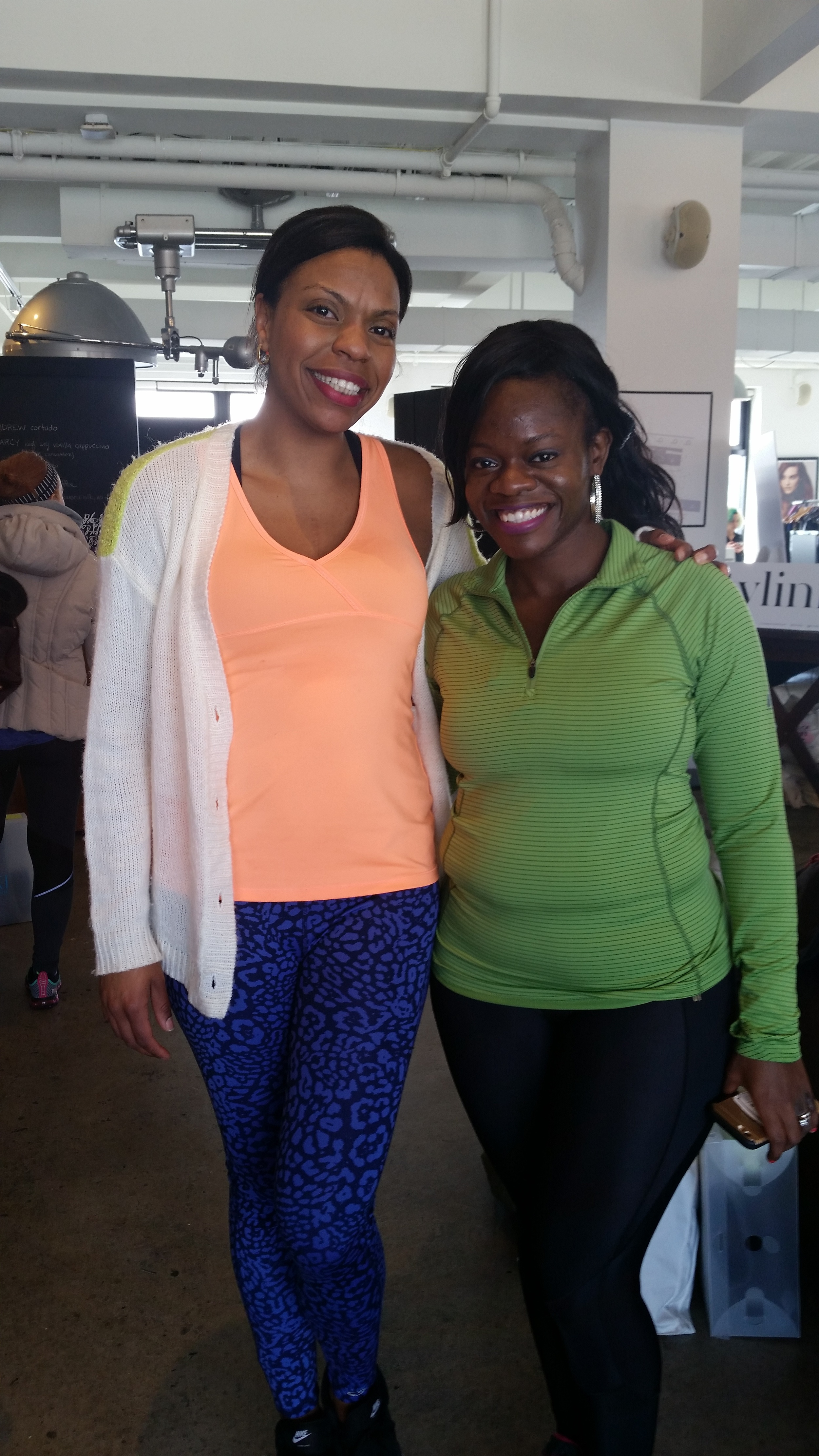I got a chance to a catch up with Brooklyn Active Mama .