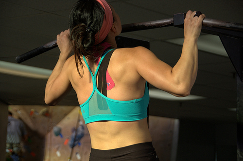 KT Tape can be placed anywhere on the body!