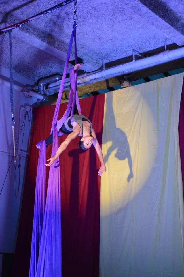 Photo courtesy of  Aerial Arts NYC
