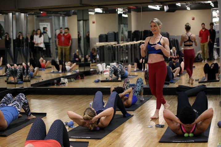 Jill Miller at 24 Hour Fitness
