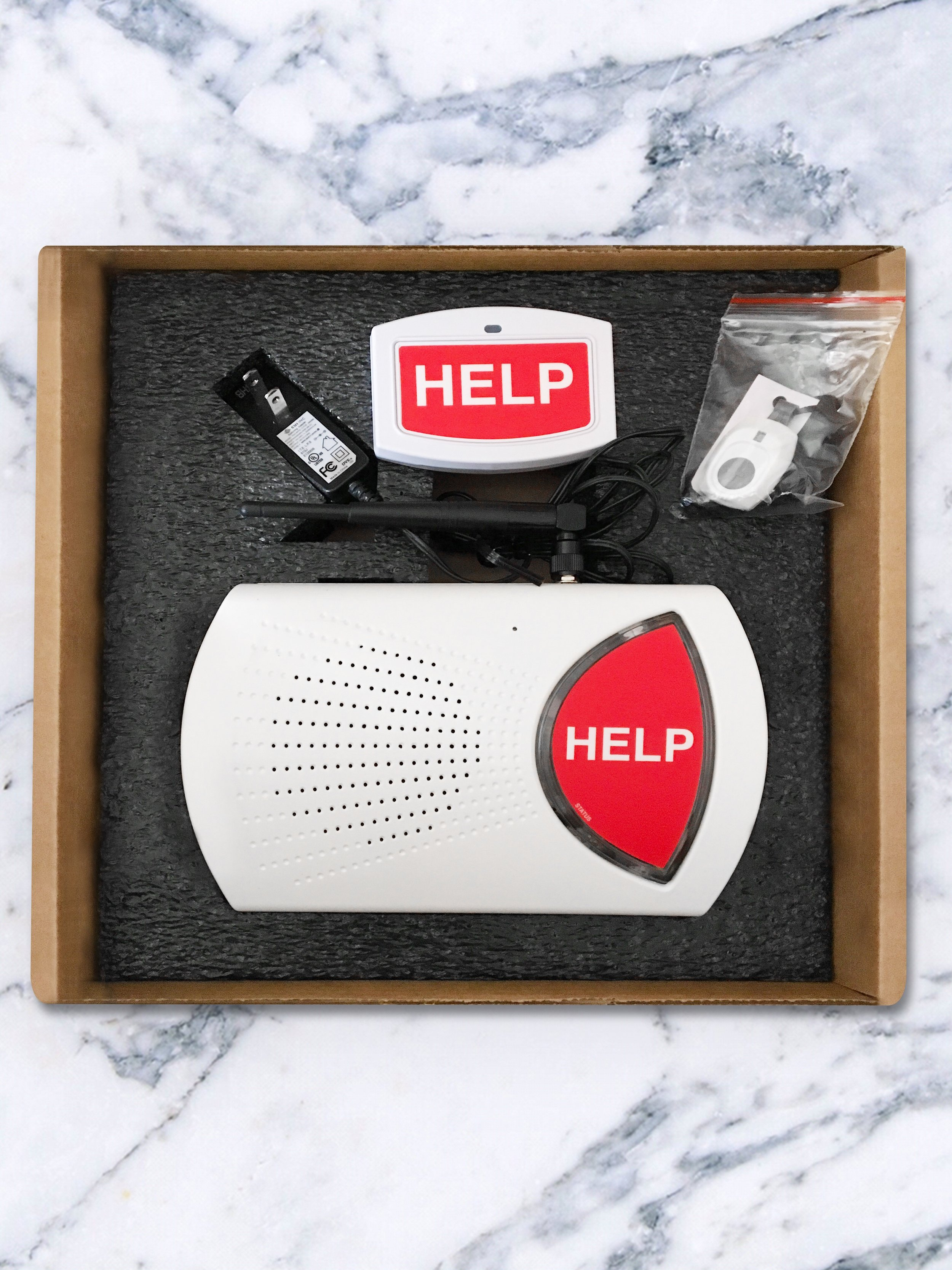 Bay Alarm Medical Kit was easy to install!