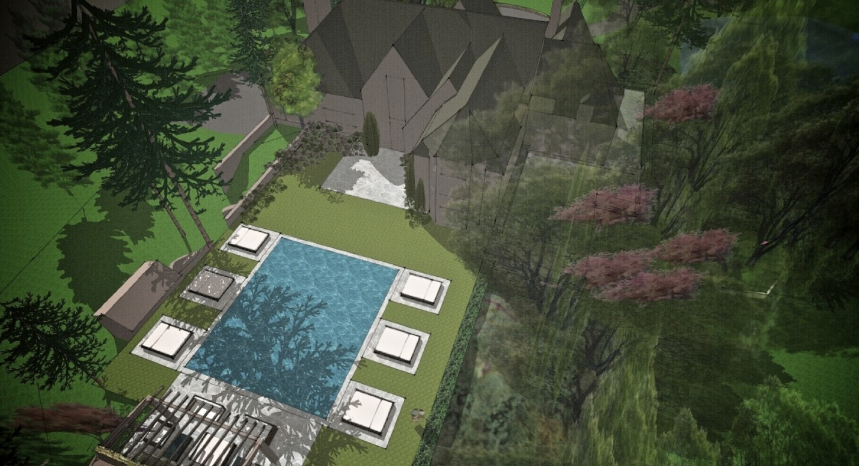 Lahser Estate. Bloomfield Hills