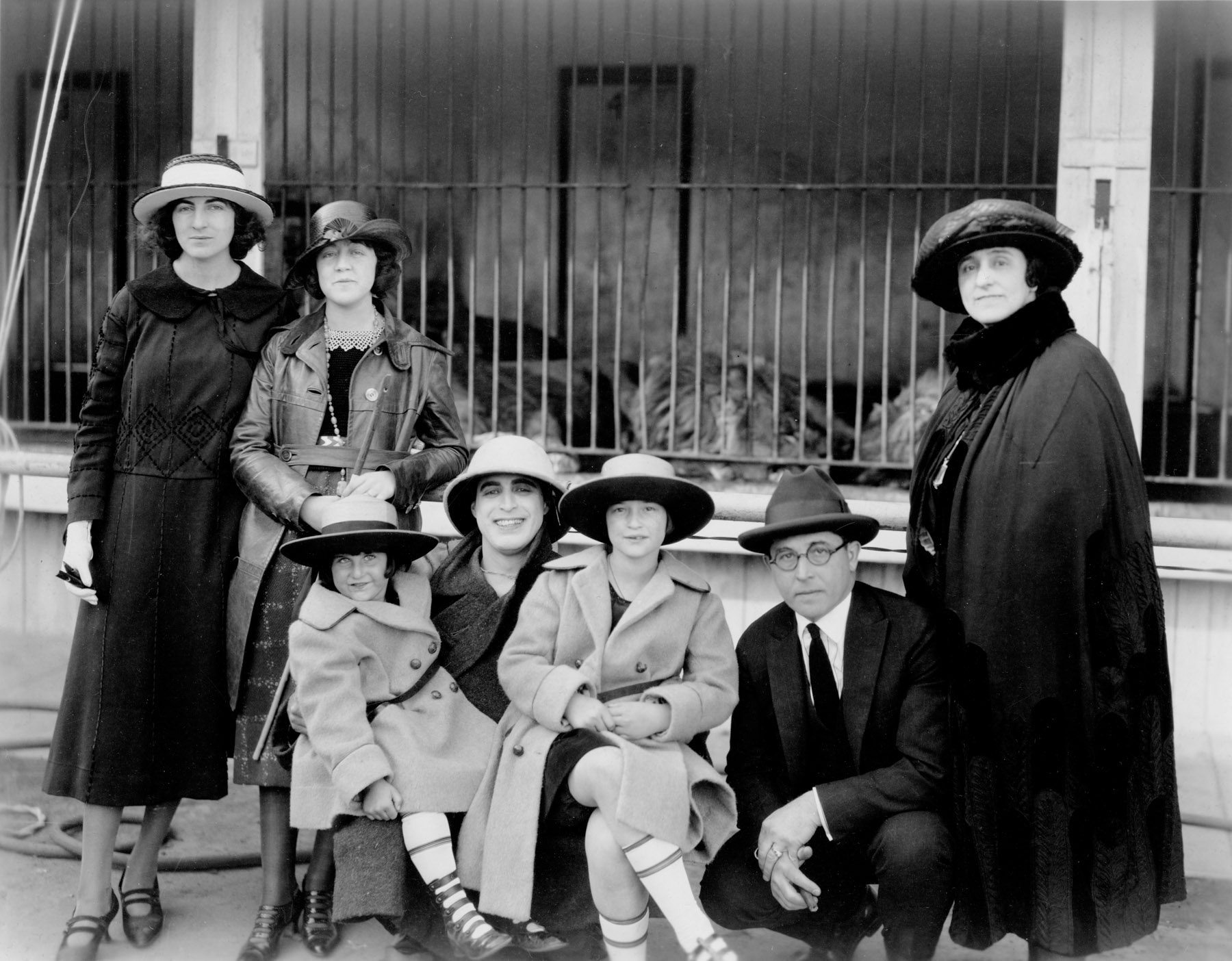 Group Photo at Fox Studios (1921)