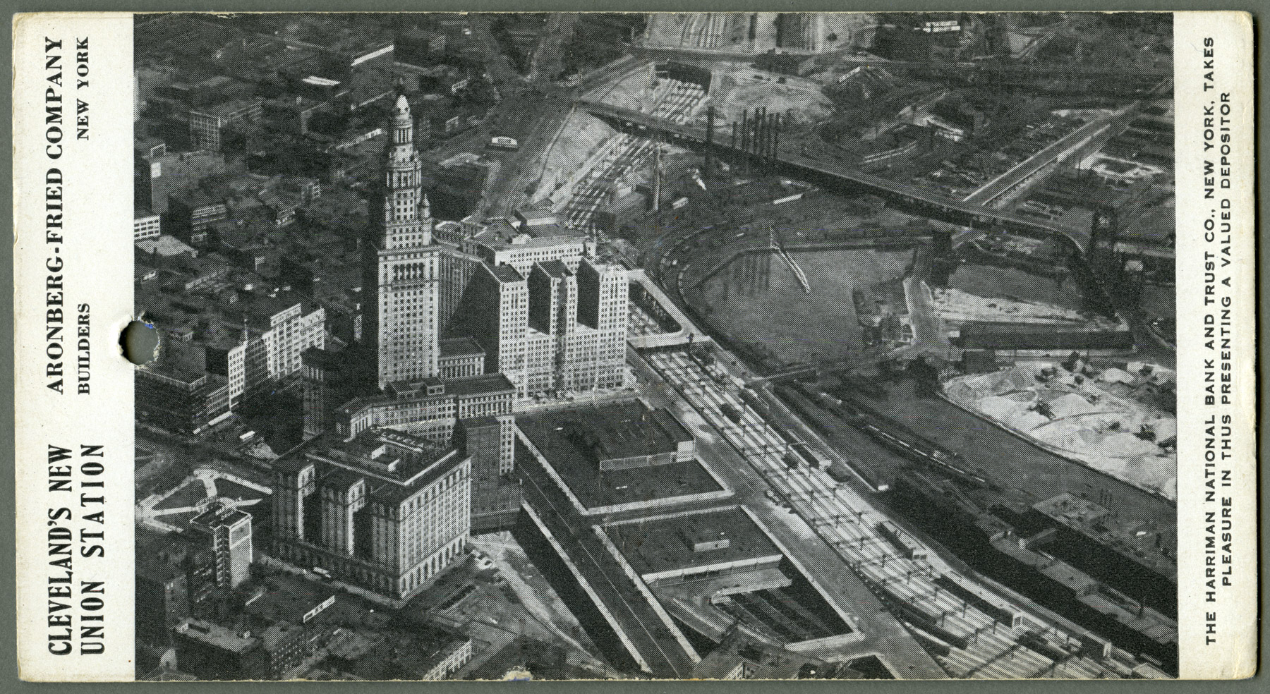 Cleveland Union Station - Aronberg-Fried Company. (1930)