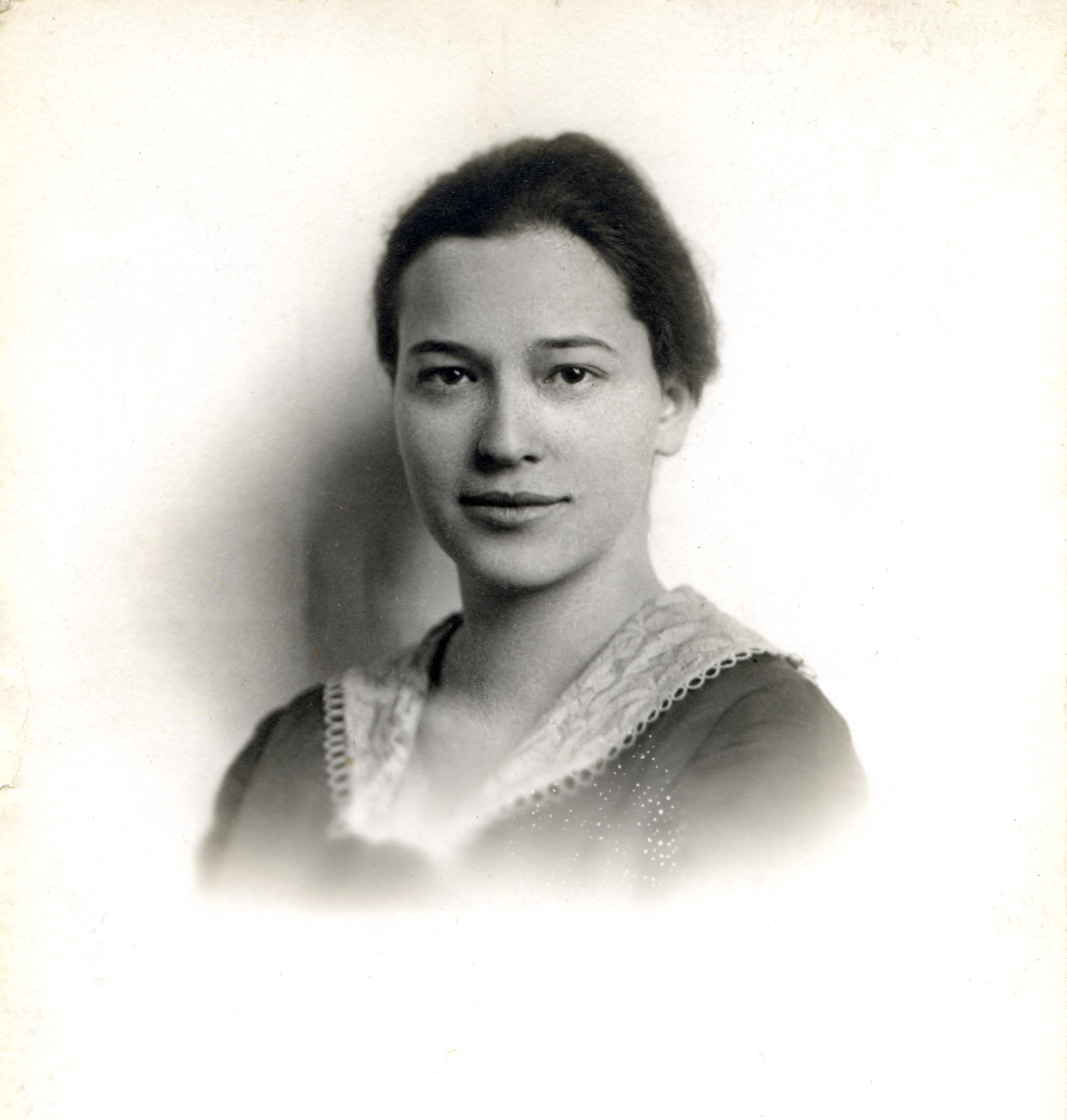 Bernice Fried Passport Photo. (c. 1930)