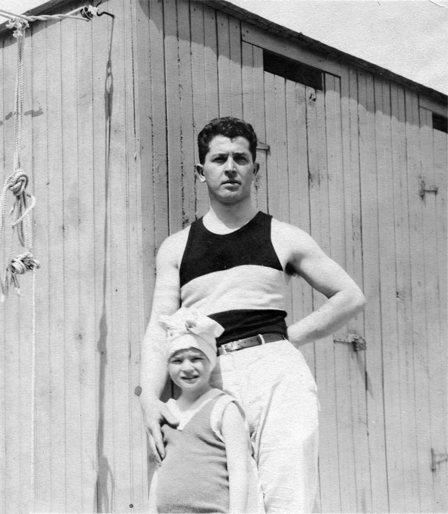 Bill Fried and Bernice. (c.1920)