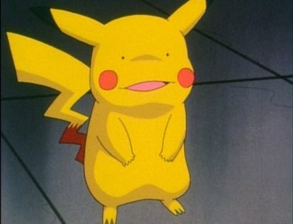 Ditto-fied Pikachu