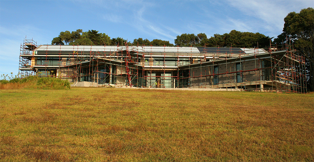 Flinders Residence Aluminium cliptray