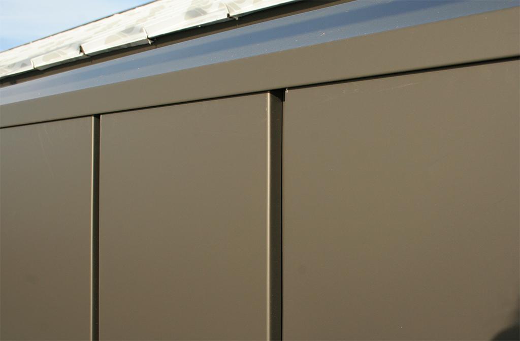 Aluminium Interlocking Panels