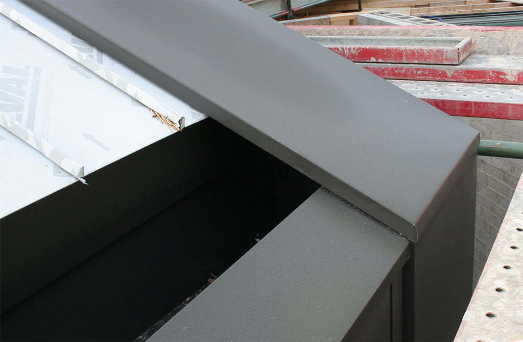 Cliptray Roof flashing Details