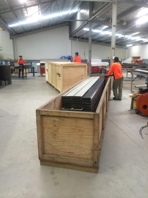 Architectural Cladding - Preparing Boxes for an Interstate Delivery