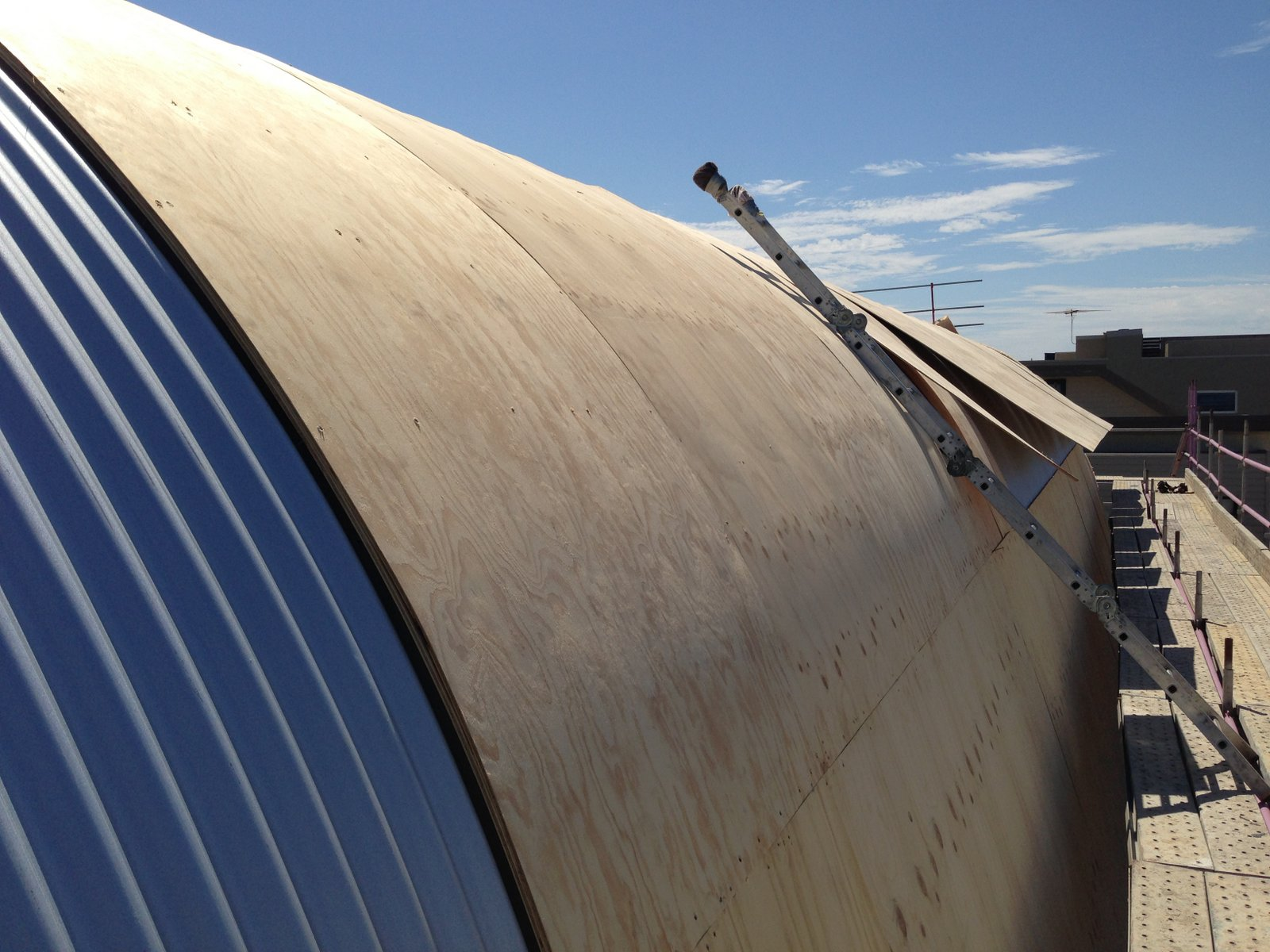Aspendale Residence - Roof Substructure