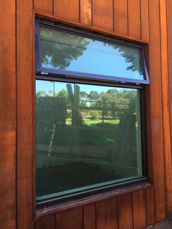 Corten CLadding Window Detail