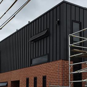 BRUNSWICK ST, brunswick CLIPTRAY Panels - PVDF Aluminium Satin black
