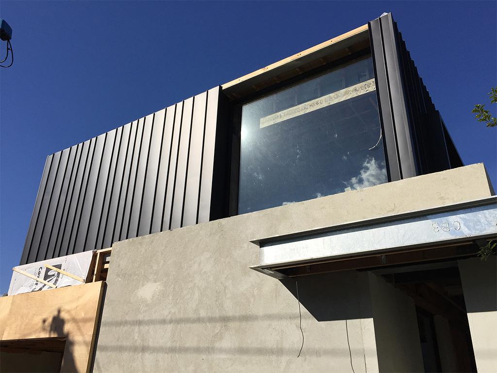 Varying Widths Standing Seam Elzinc Architectural Cladding Australia Archclad