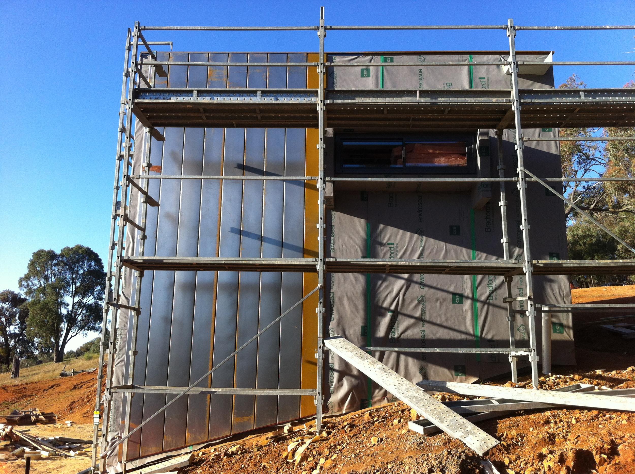 Corten A Express Panel Walls