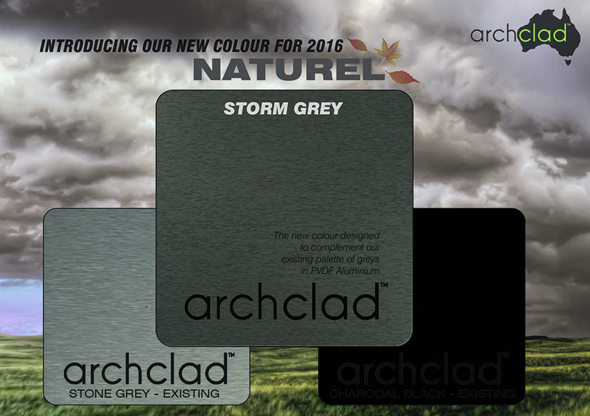 Naturel Aluminium Storm Grey