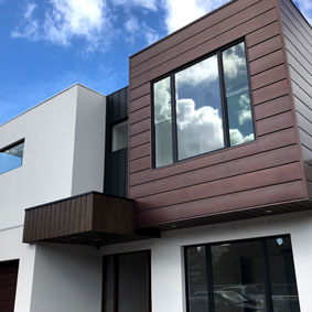 Northcote VIC PVDF Antique Copper/Satin Black - EXPRESS PANELS