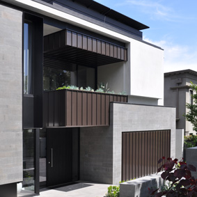 Hawthorn private residence PVDF Light Bronze Aluminium