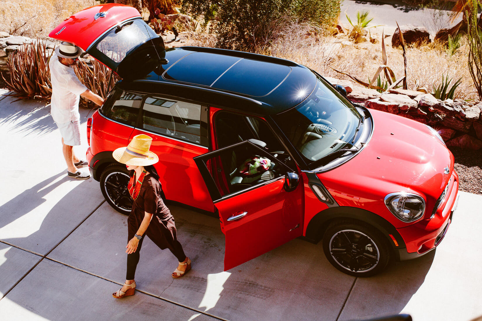 L.A Weekender: Mini Cooper; a road trip from Los Angeles to Palm Springs in a Mini Cooper Countryman S