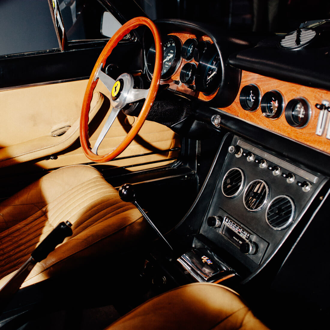 """""""I spent two days visiting auctions, parties, and auto exhibits, equally captivated by the cars and the ostentatious culture of wealth that surrounds them."""" — Jake Stangel"""