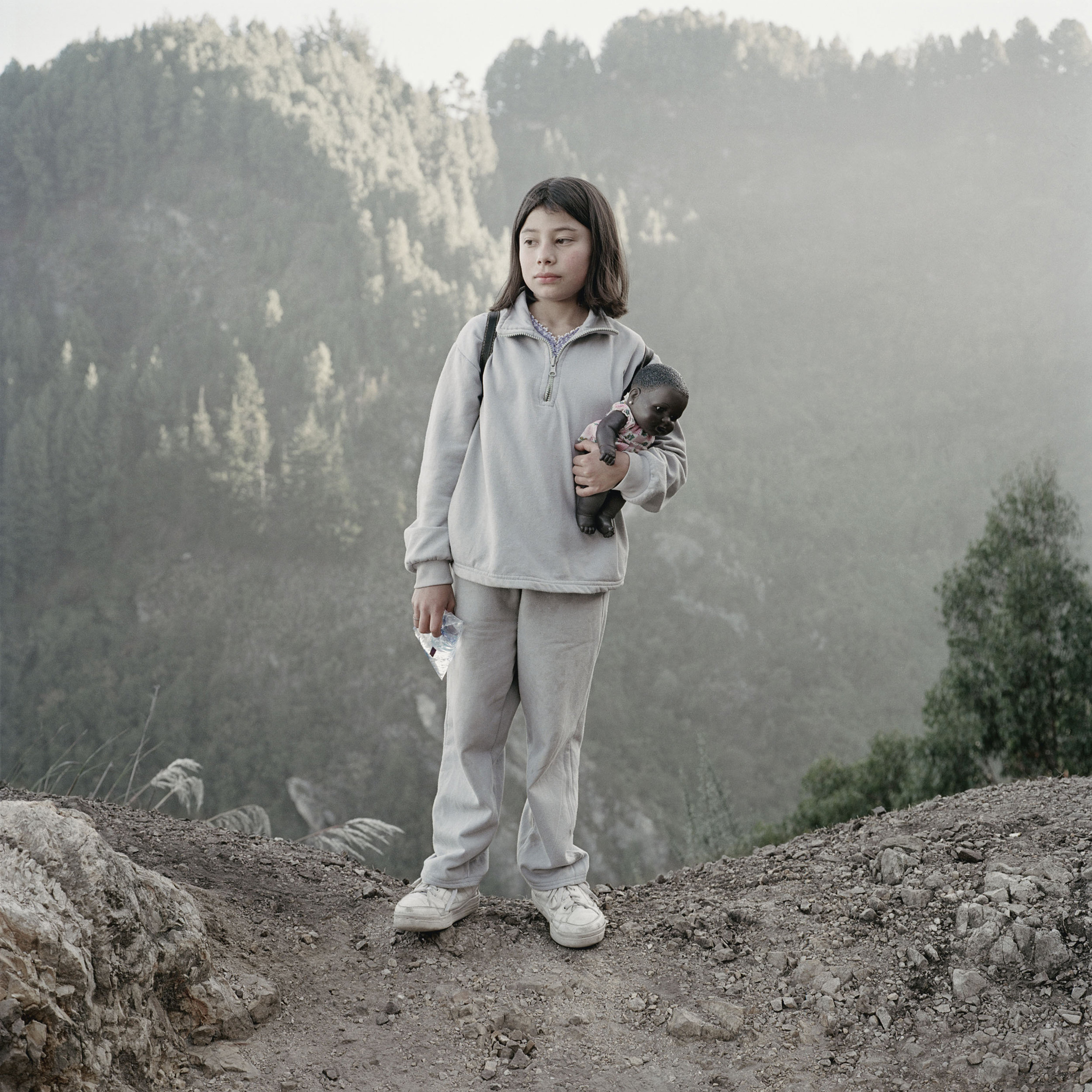 Photo from   Dog Days Bogotá  , a photobook where Alec and his wife traveled to Bogotá, Colombia to adopt a baby girl.