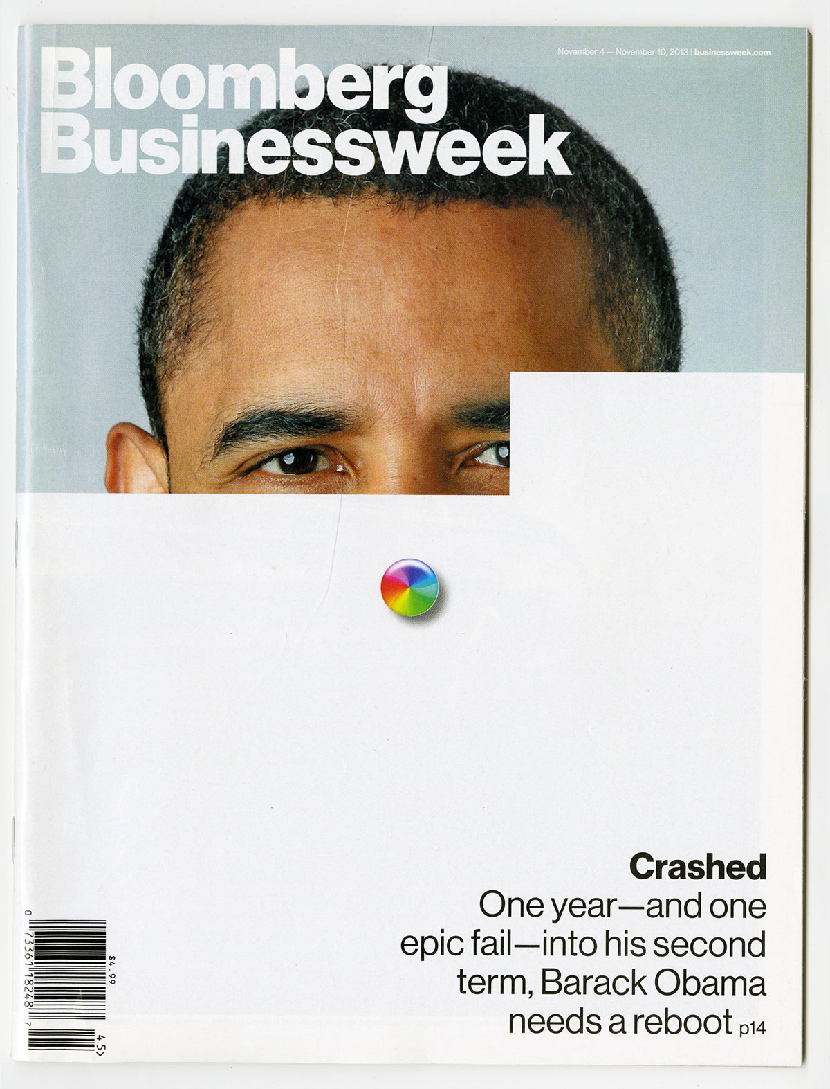 Cover design and art direction by Tracy Ma for  Businessweek's  November 4-10, 2013 issue