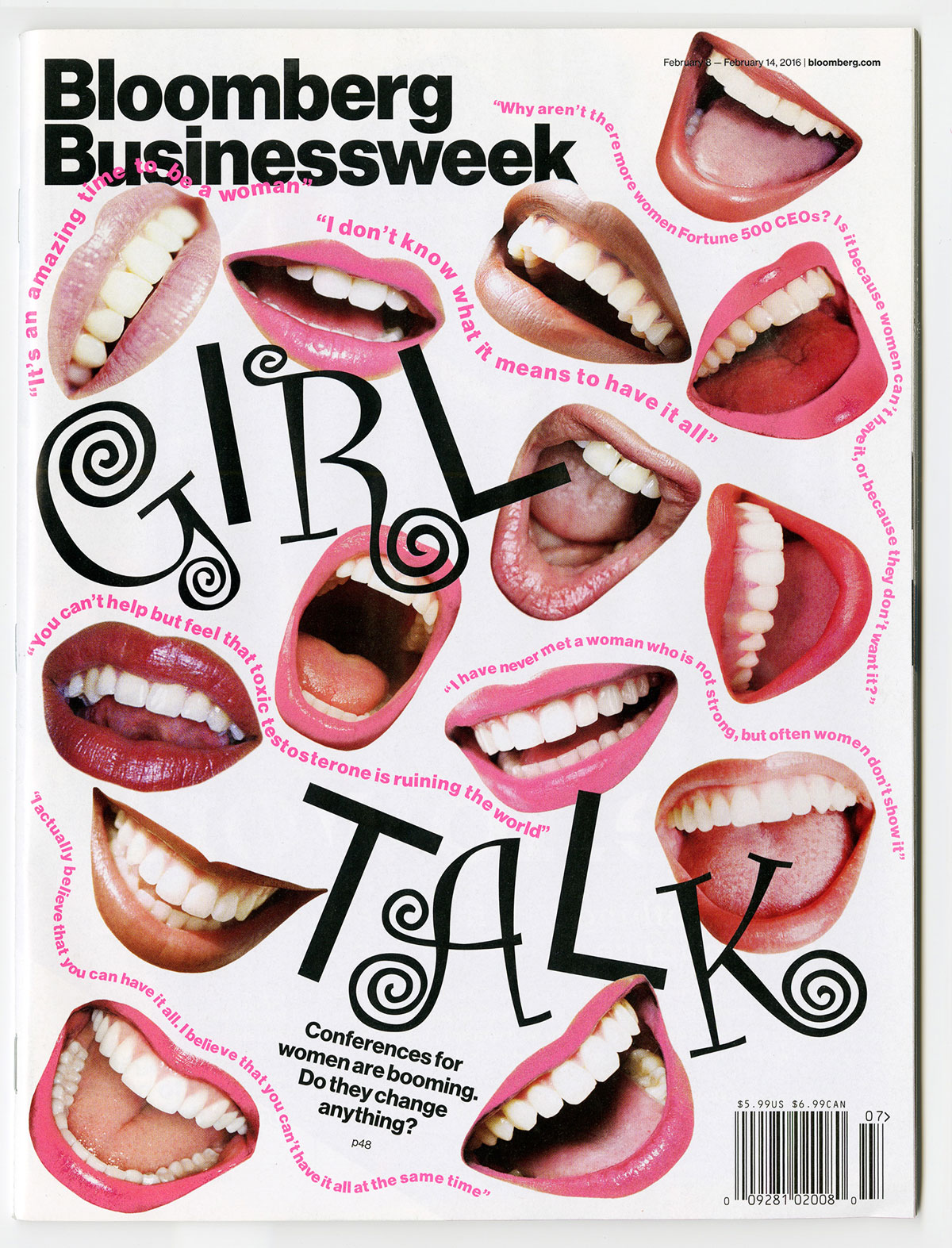 Cover design by Tracy Ma for  Businessweek's  February 8-14, 2016 issue