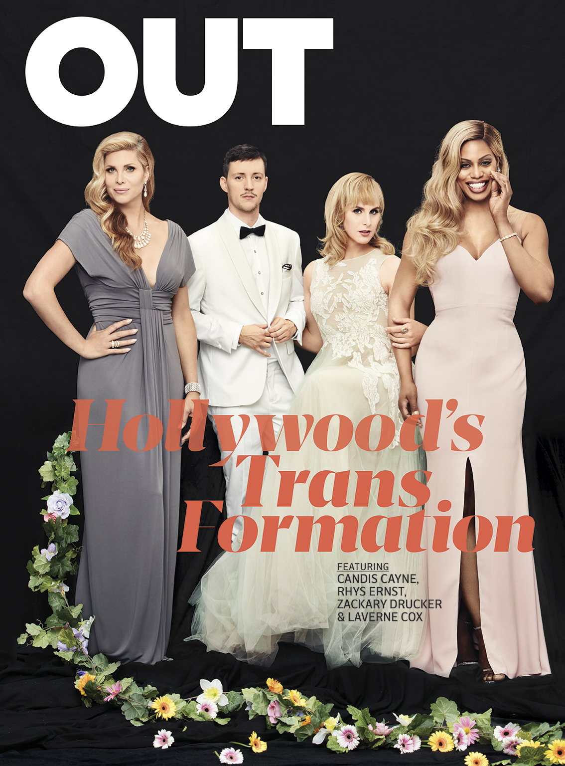Emily Shur shot several trans icons, including Laverne Cox, Candis Cayne, Caitlyn Jenner, and the cast and crew of Amazon's  Transparent , for  OUT Magazine's   Trans Hollywood issue .