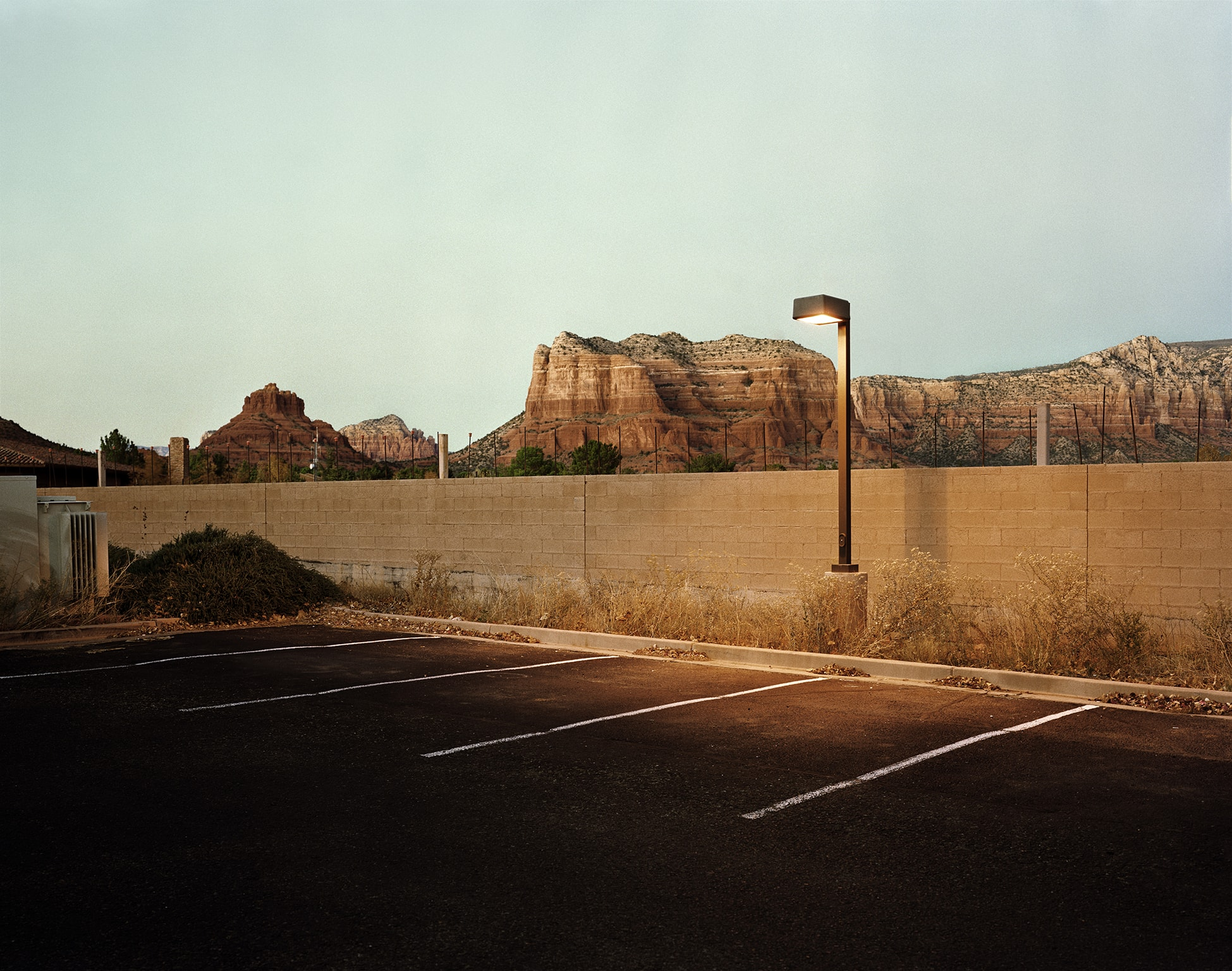 Parking spot – Sedona, Arizona