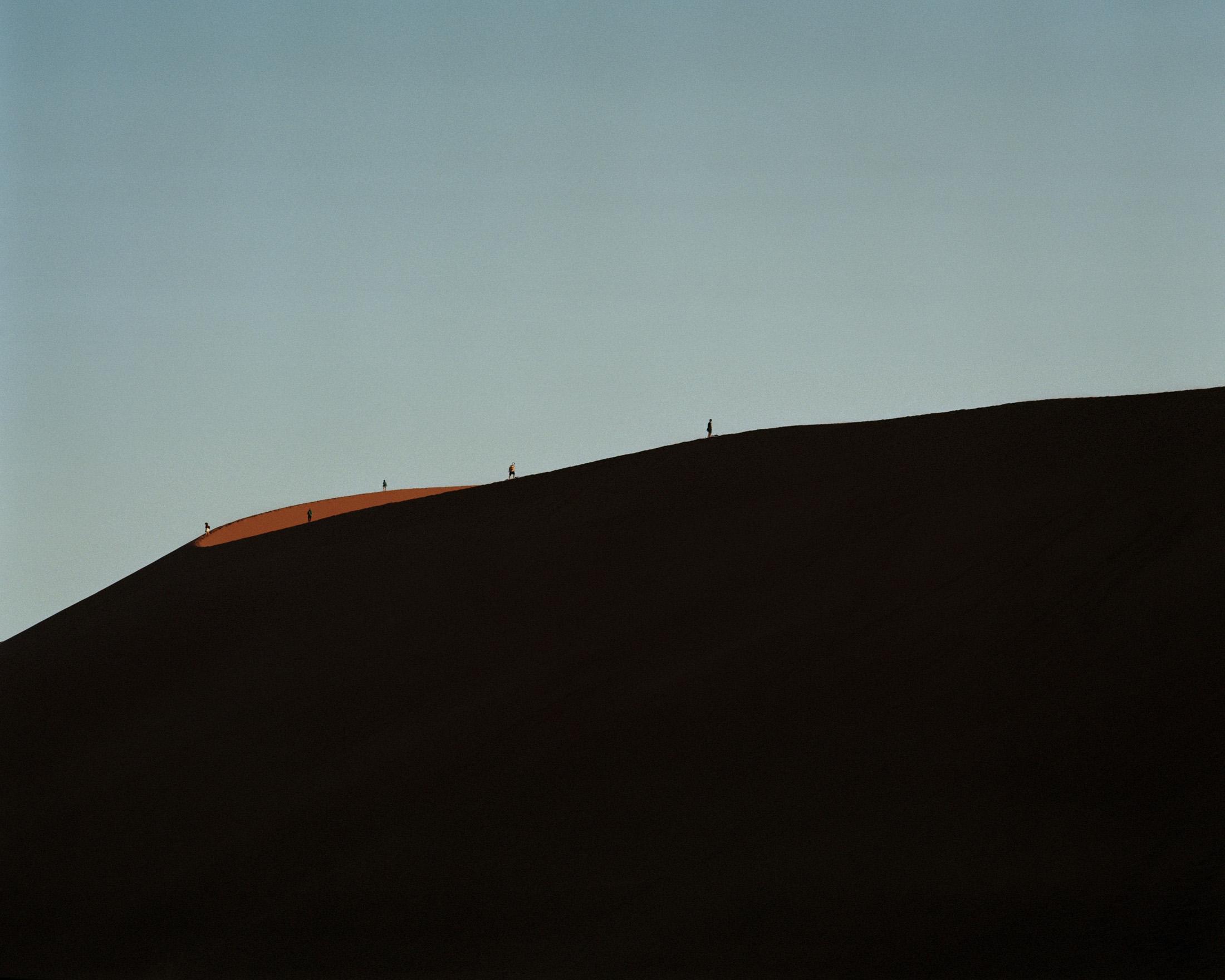 Dune #45; Sossusvlei, Namibia