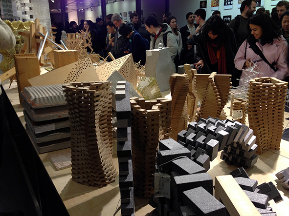 """Exhibition opening """"The Robotic Touch - How Robots Change Architecture"""" at ETH Zurich"""