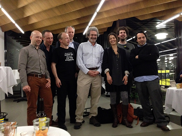 Neil Gershenfeld together with FabLabbers