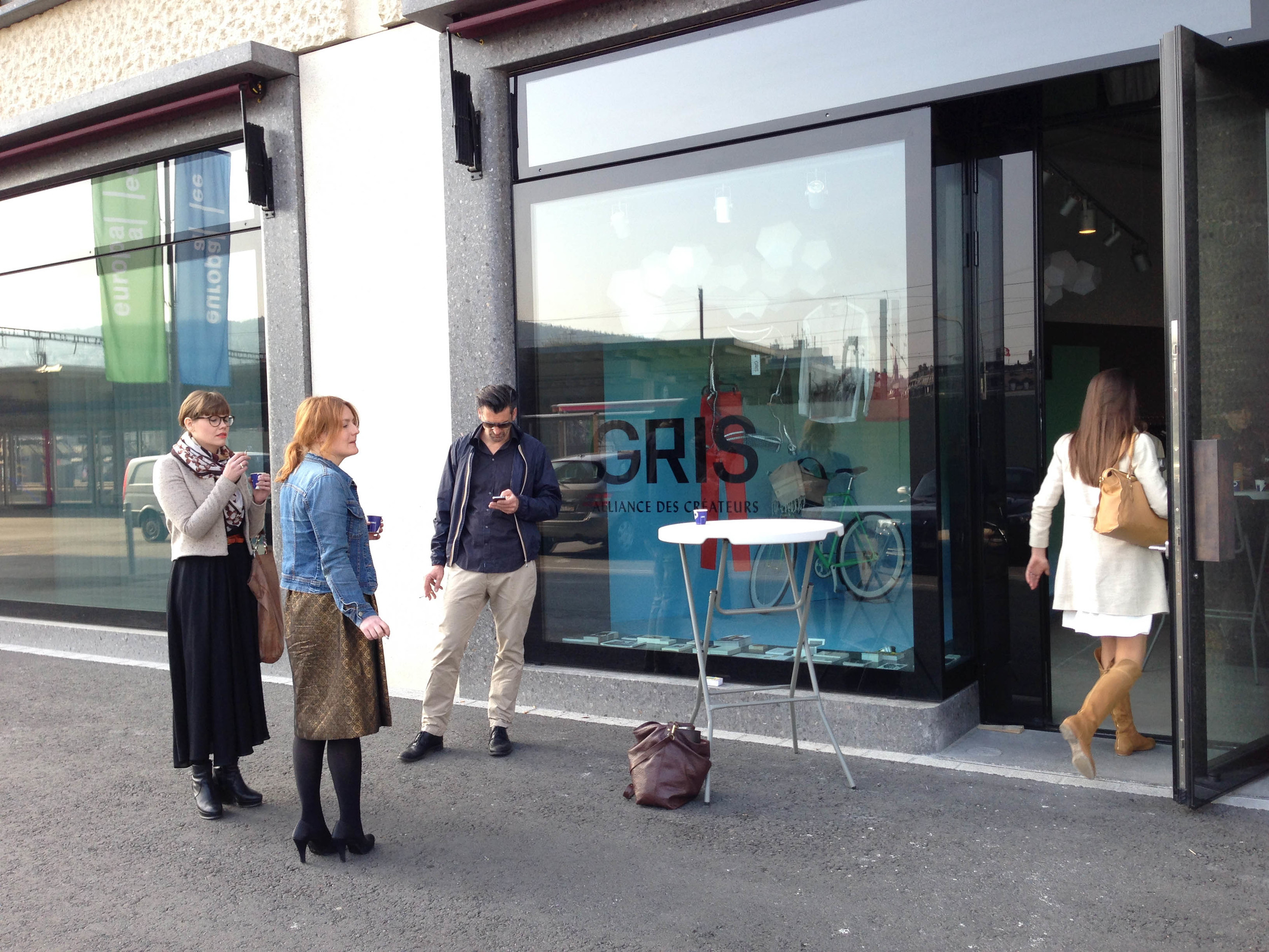 GRIS opening media event