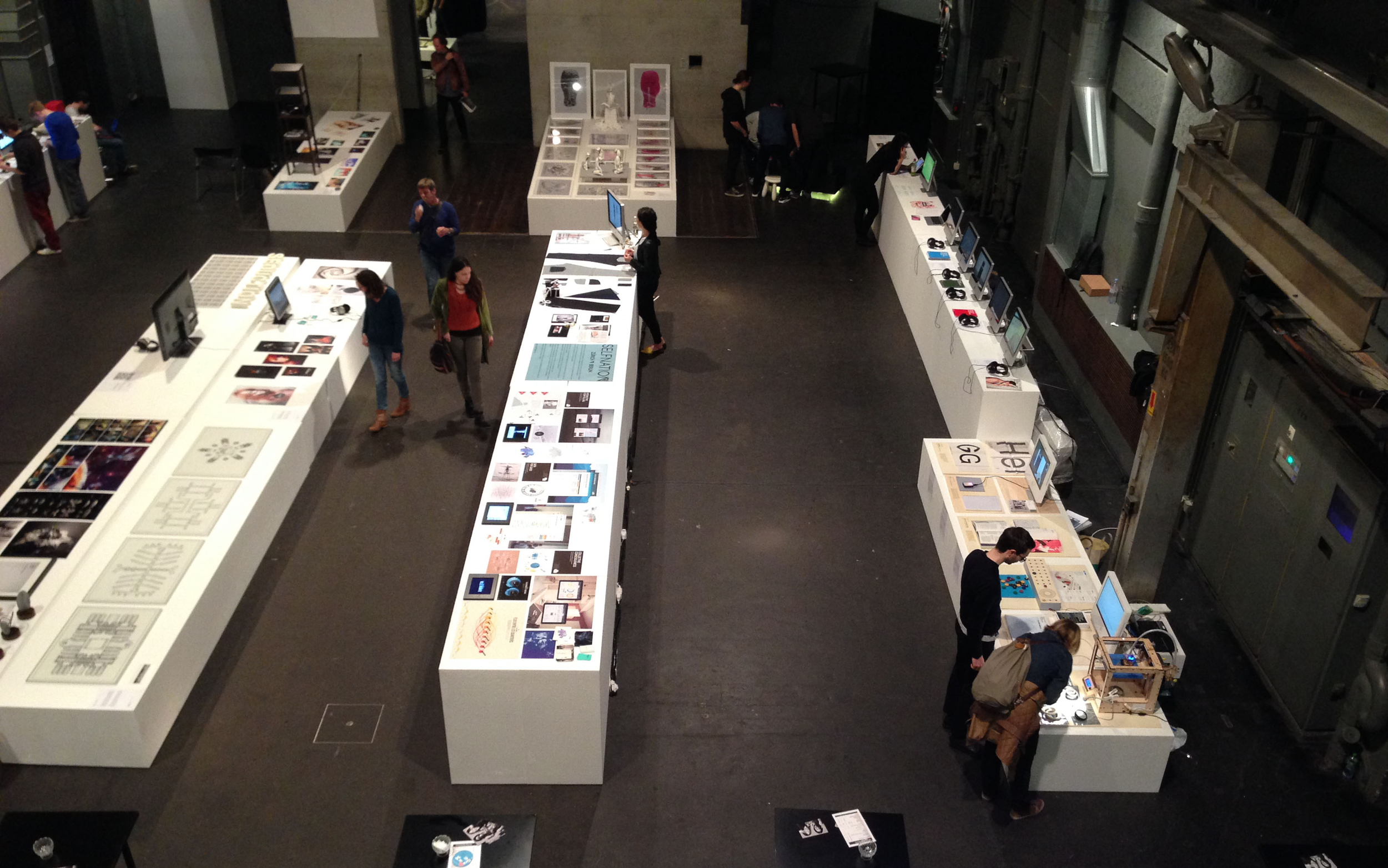 Area dedicated to digital & new media design