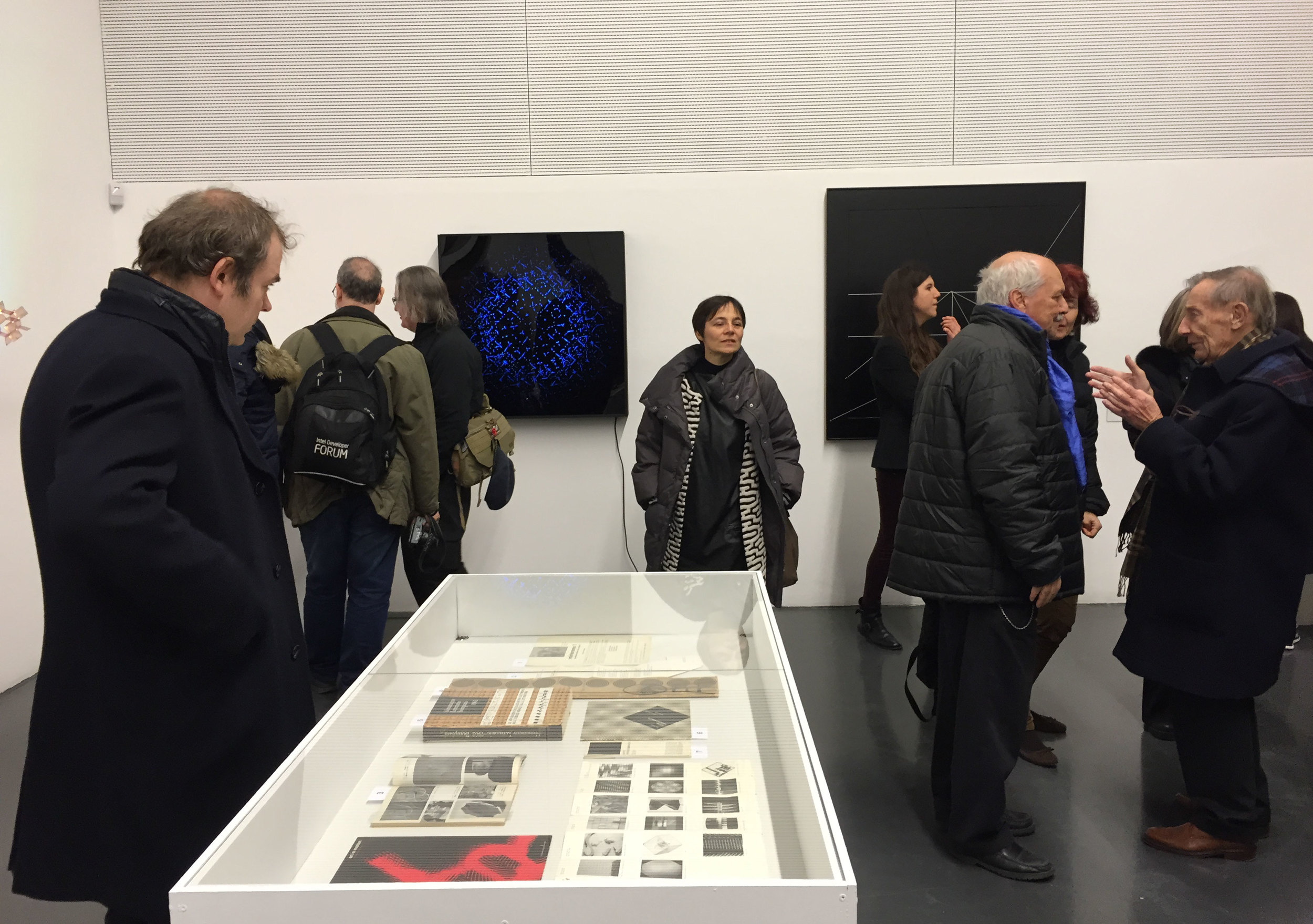 """Opening of the exhibition """"Re-programmed art"""""""