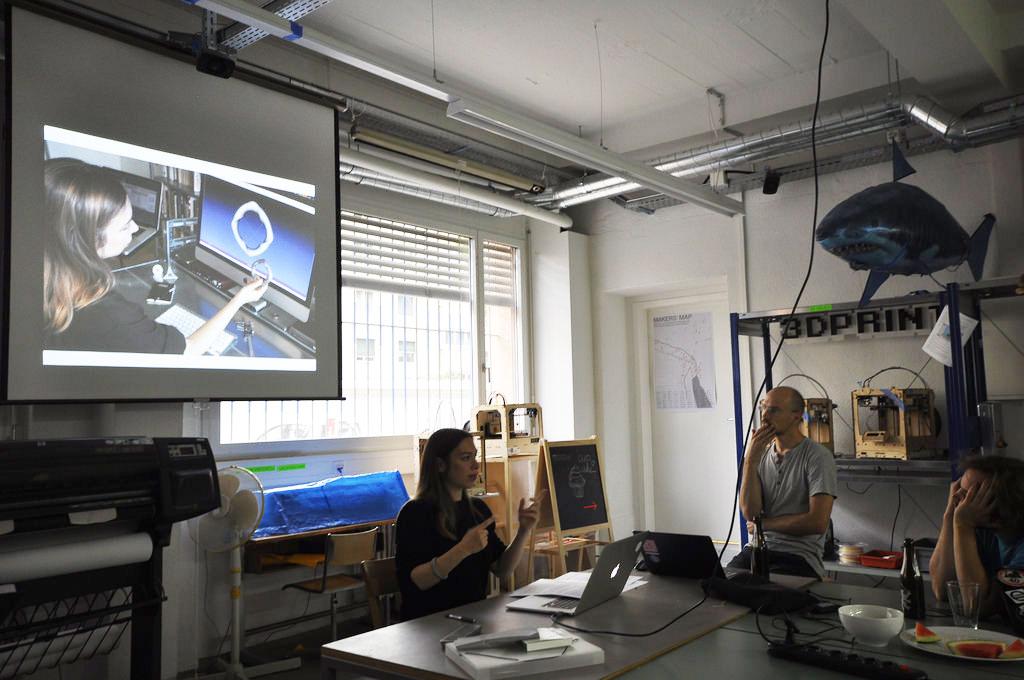 Hardware Startup Zürich Meetup at FabLab Zürich (photo by Pirates Hub)