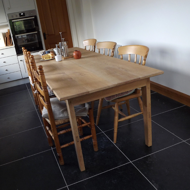 English Oak Table, Domestic Project