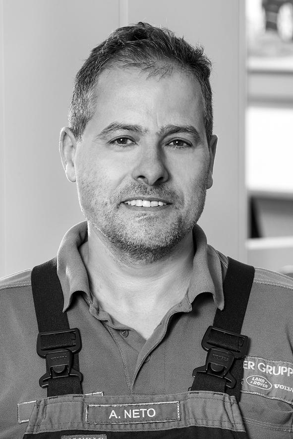 Werkstattleiter Alcindo Neto