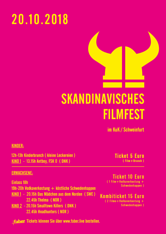skandinavische Filmfest 2018
