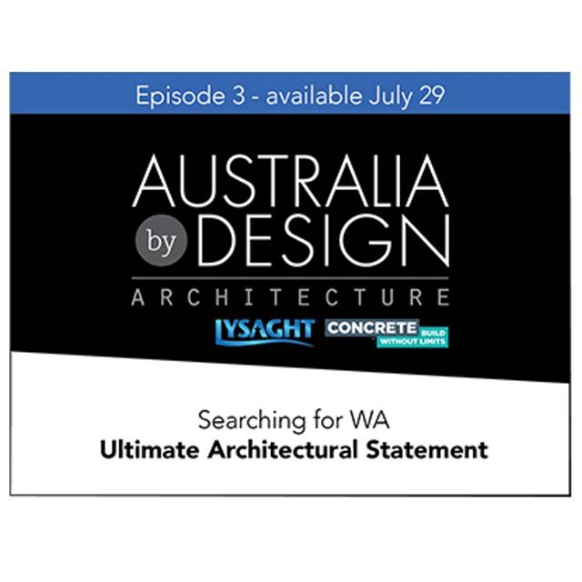 Thompson Road Office in North Fremantle is featured on Australia by Design this Sunday 3pm on Channel 10. Thanks @aubydesign @suzannehuntarchitect and @timhorton_ was great fun and fantastic to see a diverse range of high quality Architectural projects featured. Well done to all involved.