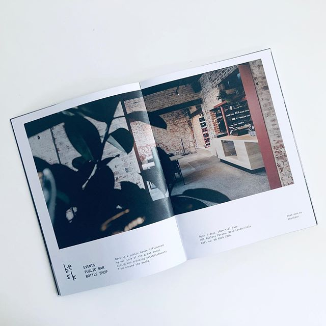 Thanks @fabricquarterly for the full page spread for @beskbar and @beskbottleshop . Awesome edition!