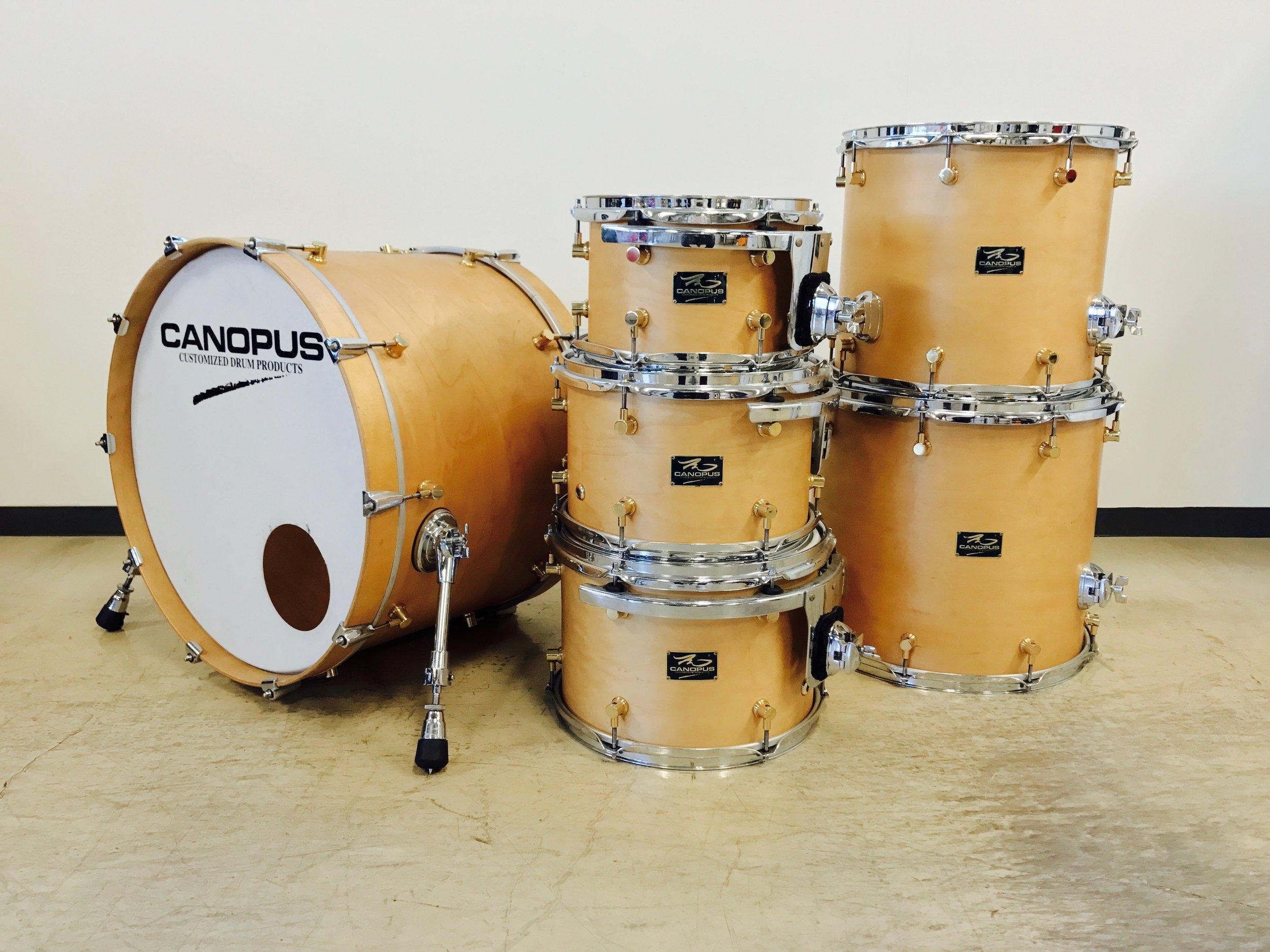 CANOPUS - RFM Series Maple Natural OilRack Tom 10