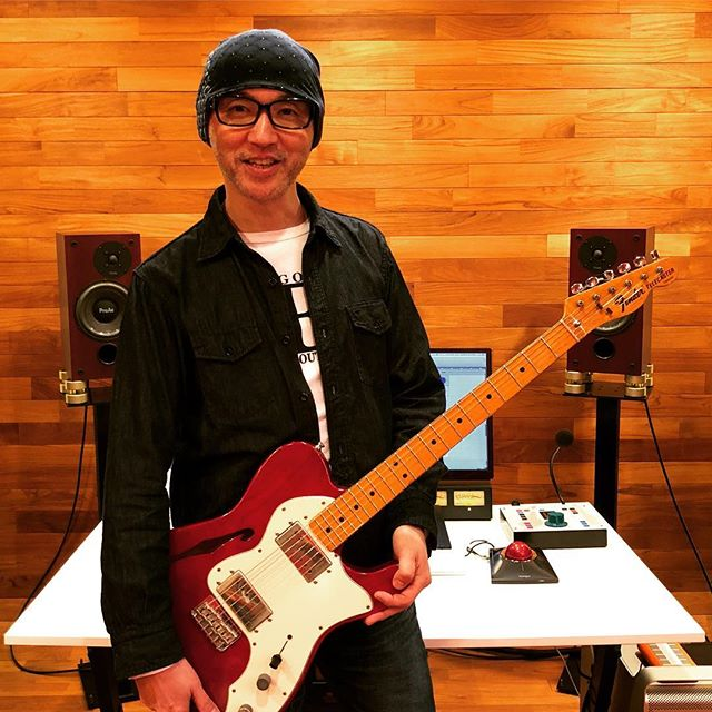 Makoto Saito, Singer Song Writer, #singersongwriter #guiterist #producer #singer #vocalist #japanese #makotosaito #recordingstudio #recordingsession #mmx #mastermixstudios #tokyo #guitardubbing #proac #api #electricguitar #incurator #decouplers #dmsd
