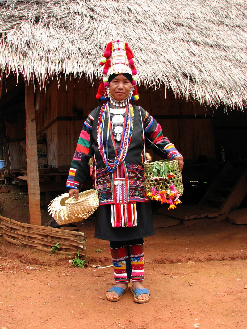 """""""Akha Woman"""" by Original uploader was Kborland at en.wikipedia - Transferred from en.wikipedia/ [1]. Licensed under CC BY 2.0 via Wikimedia Commons"""