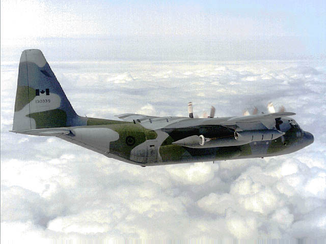 An RCAF CC-130 Hercules