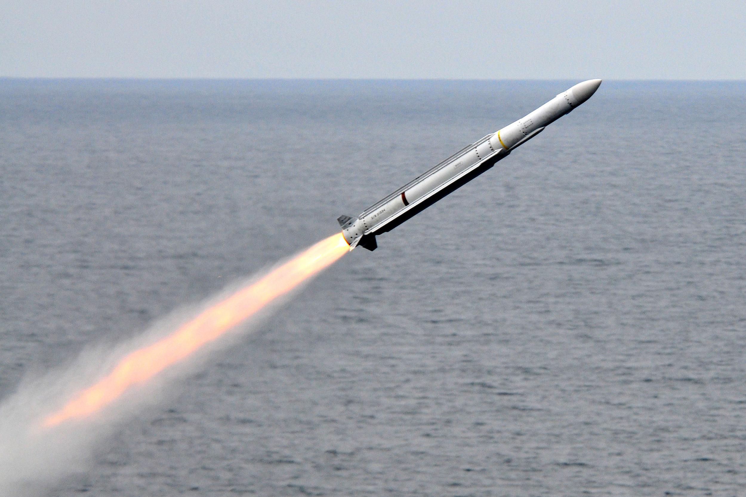A RIM-162 ESSM Missile