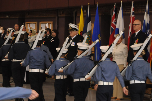 A parade of Navy League cadets, Ottawa, 2009.