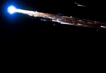 M-27m Progress burning up in Earth's atmosphere