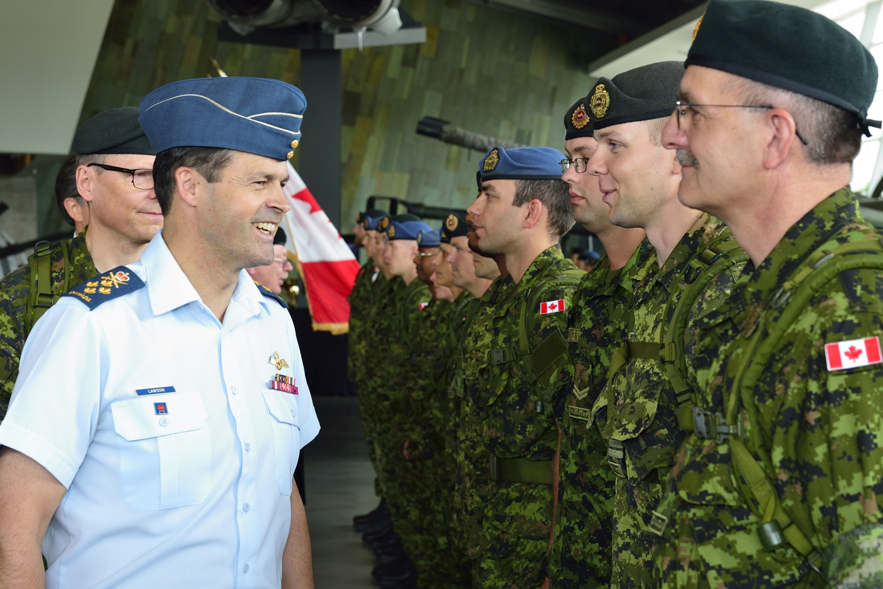 Chief of Defence Staff General Tom Lawson requested the investigation into sexual misconduct recently released by former Supreme Court Justice Marie Deschamps, but his leadership in addressing the issue can only go so far.  (DND)